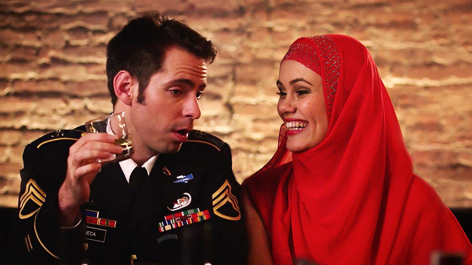 Film poster of Amira & Sam